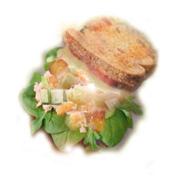 Faux duck salad jpg