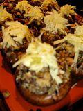 Mushrooms ready to bake 1