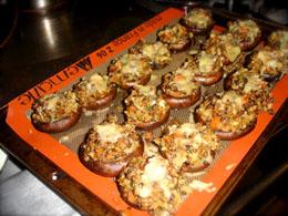 Mushrooms done