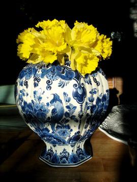Daphodils big vase